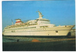 SCH-274    RUSSIAN Passengership / Cruiseship - Dampfer