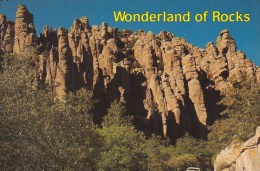 Arizona Tempe Wonderland Of Rocks Chiricahual Monument - Tempe