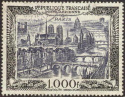 France C27 XF Used 1000fr Airmail From 1950 - Airmail