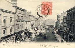 WREXHAM, High Street  - 2 Scans - Flintshire