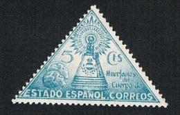 Huérfanos Cuerpo Correos Estado Español 5 Cts. Nuevo Sin Char. - Beneficiencia (Sellos De)
