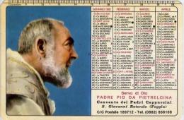 Calendarietto - Padre Pio Da Pietralcina 1981 - Formato Piccolo : 1981-90