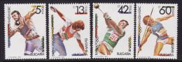 Bulgaria #3565-68 F-VF Mint NH ** OLYMPHILEX '90 - Olympic Games