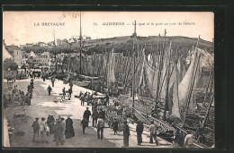 AK Audierne, Blick Auf Den Hafen - Unclassified