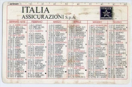 Calendarietto - Italia Assicurazione S.p.a. 1979 - Calendari