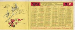 Calendarietto - SIP - 1970 - Calendriers