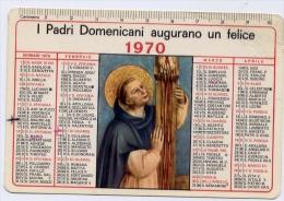 Calendarietto - I Padri Domenicani Augurano Un Felice 1970 - Calendriers