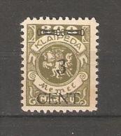 Memel-Klaipeda 1923, 3cent On 300m, Scott # N54,VF MNH**OG - Lituanie