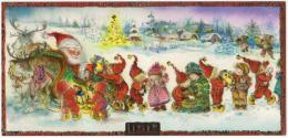 PC  LISI MARTIN  * Christmas * Childs * Santa Claus Sledge * Gifts * - Illustrateurs & Photographes