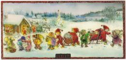PC  LISI MARTIN  * Christmas * Childs *  Sledge * Gifts * - Illustrateurs & Photographes