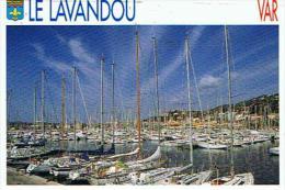 CPM  83*LE LAVENDOU  * Le Port De Plaisance - France