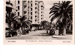 C P S M-------MAROC-----CASABLANCA----avenue Poeymirau-----voir 2 Scans - Casablanca