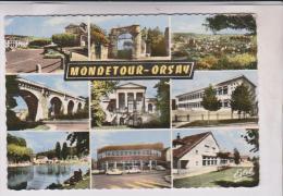 CPM DPT 91 MONDETOUR ORSAY MULTIVUES En 1976!! - France