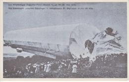 ZEPPELIN      ZEPPELIN    WRECK  *  Reproduction - Airships