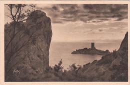 Carte Postale Ancienne - Saint Raphaël-Agay - L'ile D'Or - Saint-Raphaël