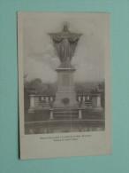 Maison St. Joseph à LEMBECQ-lez-Hal / Statue Du Sacré-Coeur ( Lembeek ) Anno 19?? ( Zie Foto Voor Details ) !! - Halle