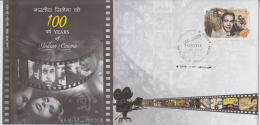 India 2013  Balraj Sahni  100 Years Of Indian Cinema Private FDC No. 16 Of 50 Stamps Issued # 81925  Inde Indien - Cinema