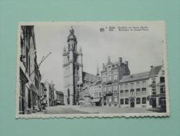 Basiliek En Grote Markt ( 5 ) Halle ( Albert ) Anno 19?? + Taks ( Zie Foto Voor Details ) !! - Halle