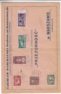 Oiseaux - Rapaces - Maréchal - Pologne - Lettre De 1919 ° - Oblitération Radom - 1919-1939 Republic