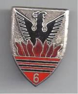 6° Régiment De Chasseurs D'Afrique - Drago 157  émail - Armée De Terre