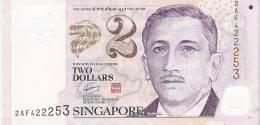 2005? Singapore $2 Polymer Banknote 1 Piece UNC Children Education Book School - Singapore