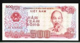 Vietnam 1988 500 Dong Banknote 1 Piece Ship Truck Factory - Vietnam
