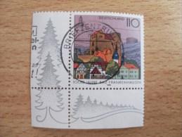"BRD 1998  Mi. Nr. 1978   O / Eckrand Gestempelt       "" 1000 Jahre Bad Frankenhausen "" - [7] République Fédérale"