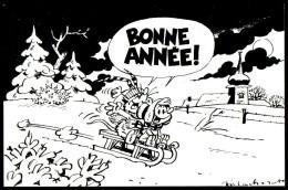 BONNE ANNEE - SYBILLINE Et CHLOROPHYLE - MACHEROT - Non Circulé - Not Circulated. - Fumetti