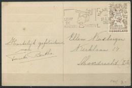 .B.14.APR.168. PRENTBRIEFKAART  VERSTUURD  IN  NEDERLAND.  1950.