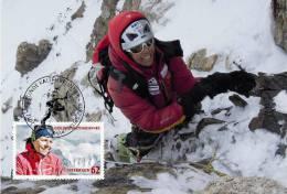 Austria Österreich 2012 - Gerlinde Kaltenbrunner Maxicard - Climbing