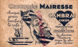 59 - CAMBRAI - BUVARD CHICOREE MAIRESSE - Buvards, Protège-cahiers Illustrés