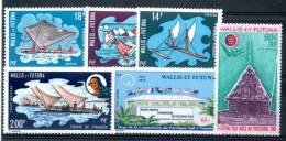 WALLIS Et FUTUNA : Année Complète 1972 ** - Wallis And Futuna