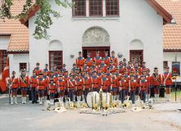 Danemark DANMARK Danehofgarden 5800  Nyborg  (Danehof Gardens Fanfare Musique Brass Band Orchestre)*PRIX FIXE - Danemark