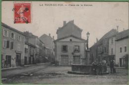 38 LA TOUR-du-PIN - Place De La Nation - France