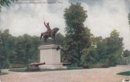 B79319 Kosciusco Monument Milwaukee Wiscounsin USA  Front/back Image - Milwaukee