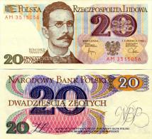 1982 Poland Banknote 20 Zlotys UNC - Poland