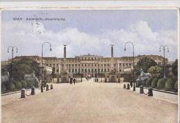 B79592 Schonbrunn Haupteingang  Wien  Austria  Front/back Image - Château De Schönbrunn