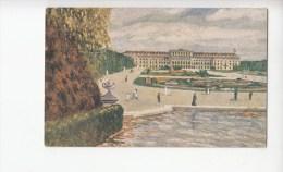 B79601 Schonbrunn Kalserliches Lustschloss   Wien  Austria  Front/back Image - Château De Schönbrunn