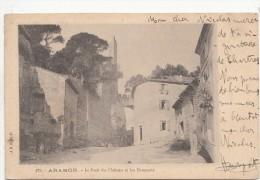B79629 Aramon Le Pont Du Chateau Et Les Remparts France Gard  Front/back Image - Aramon