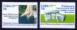 MNH 2v, Anti Diabetes, Insulin, Medicine, - Red Cross