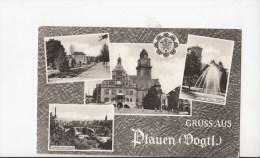 B79843 Plauen Vogtl  Germany  Front/back Image - Plauen