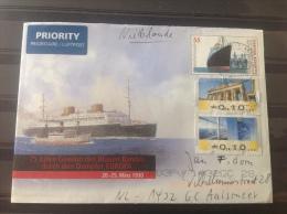 Duitsland / Germany - Poststuk 75 Jaar Dampfer Bremen - Brieven En Documenten