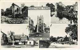 Pays Div-royaume Uni -united Kingdom  -ref B687- Waltham Abbey - Carte Bon Etat  - - Angleterre