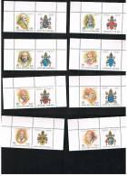 VATICANO UNIFICATO 1145-1152 - 1999 I PAPI E GLI ANNI SANTI 2^ SERIE- NUOVI** - Vaticano