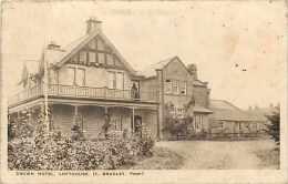 Pays Div-royaume Uni -united Kingdom  -ref B681- Crown Hotel Lofthouse -t Bradley Prop- Carte Bon Etat  - - Angleterre