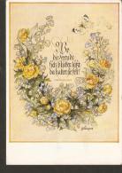 5k. Germany, Flowers Illustration Signed By Henry Schaper Wo Die Freude Sich Blicken Lasst Von Fallersleben - Wiechmann - Künstlerkarten