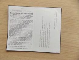 Doodsprentje Bertha Vandewalle  Ten Brielen 1/8/1889 - 22/6/1957 ( Maurice Dujardin ) - Religion & Esotericism