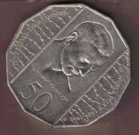 AUSTRALIA 50 CENTS 1995 W.DUNLOP - Decimal Coinage (1966-...)