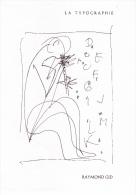 Superbe Encart Philatélique Officiel (4 P.), La Typographie, Raymond Gid, 1986 - Languages