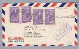 Bolivien 1959 ? R-Brief Nach Winterthur - Bolivie